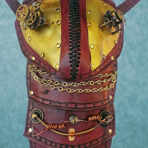 Electric Gears Pauldron by Steampunk Maniacs