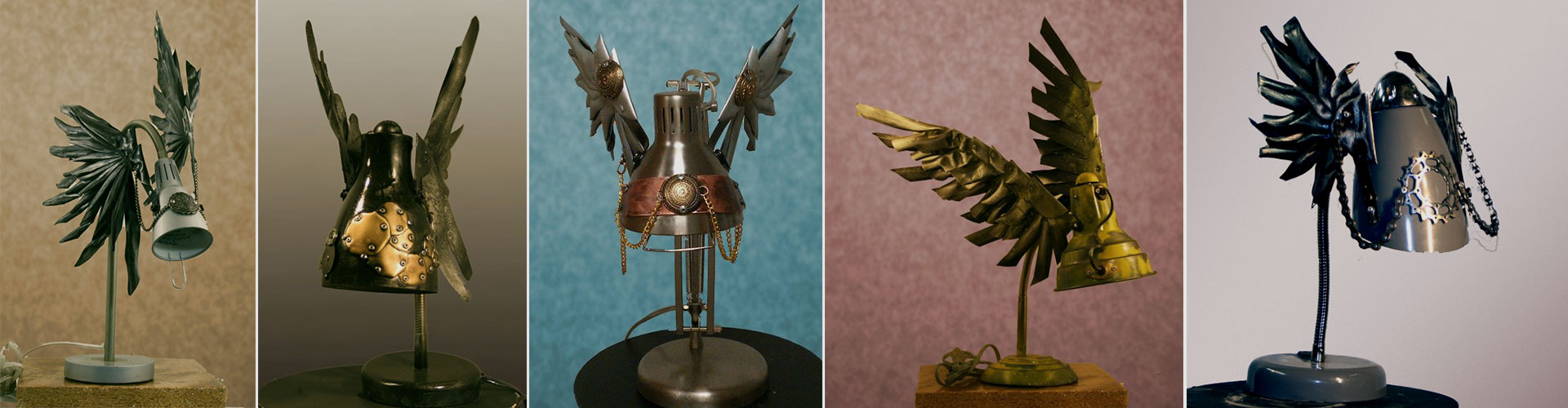 Steampunk Maniacs Flying Lamps