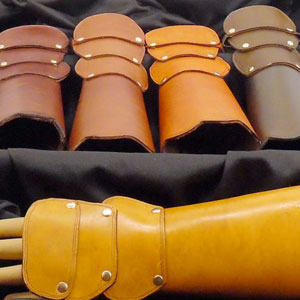 Custom Bracer Gauntlet Materials Deposit by Steampunk Maniacs